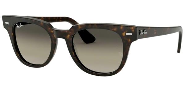 Sluneční brýle Ray-Ban® model 2168, barva obruby hnědá lesk, čočka šedá gradál, kód barevné varianty 90232.