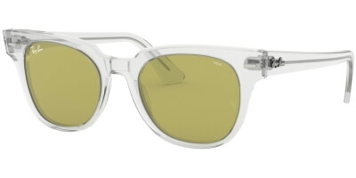 Sluneční brýle Ray-Ban® model 2168, barva obruby čirá lesk, čočka zelená, kód barevné varianty 9124C.