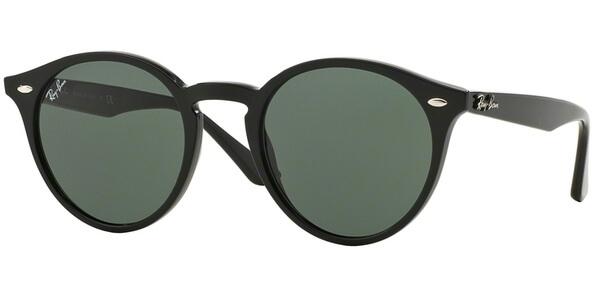 Sluneční brýle Ray-Ban® model 2180, barva obruby černá lesk, čočka zelená, kód barevné varianty 60171.