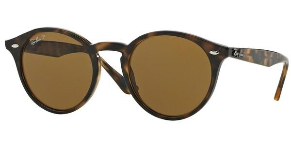 Sluneční brýle Ray-Ban® model 2180, barva obruby hnědá lesk, čočka hnědá polarizovaná, kód barevné varianty 71083.