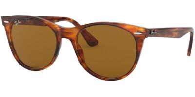 Sluneční brýle Ray-Ban® model 2185, barva obruby hnědá lesk, čočka hnědá, kód barevné varianty 95433.