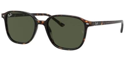 Sluneční brýle Ray-Ban® model 2193, barva obruby hnědá lesk, čočka zelená, kód barevné varianty 90231.