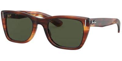 Sluneční brýle Ray-Ban® model 2248, barva obruby hnědá lesk, čočka zelená, kód barevné varianty 95431.