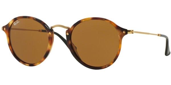 Sluneční brýle Ray-Ban® model 2447, barva obruby hnědá lesk zlatá, čočka hnědá, kód barevné varianty 1160.