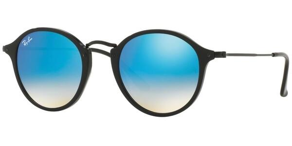 Sluneční brýle Ray-Ban® model 2447, barva obruby černá lesk, čočka modrá zrcadlo gradál, kód barevné varianty 9014O.