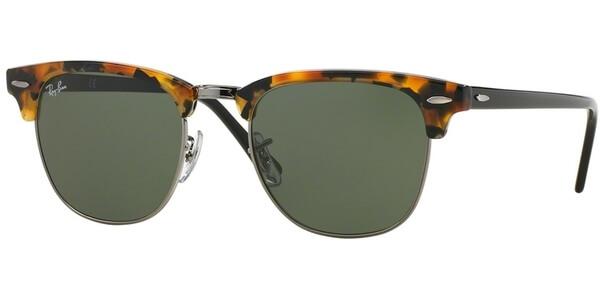 Sluneční brýle Ray-Ban® model 3016, barva obruby hnědá lesk stříbrná, čočka zelená, kód barevné varianty 1157.
