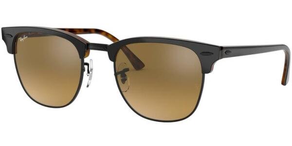 Sluneční brýle Ray-Ban® model 3016, barva obruby šedá lesk hnědá, čočka hnědá zrcadlo gradál, kód barevné varianty 12773K.