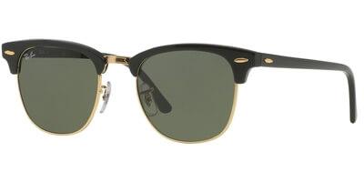 Sluneční brýle Ray-Ban® model 3016, barva obruby černá lesk zlatá, čočka zelená, kód barevné varianty W0365.