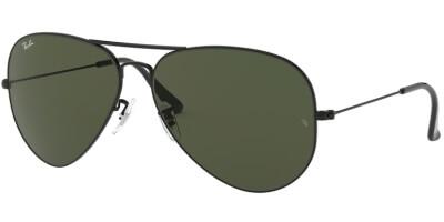 Sluneční brýle Ray-Ban® model 3026, barva obruby černá lesk, čočka zelená, kód barevné varianty L2821.