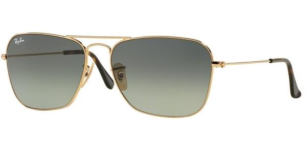 Sluneční brýle Ray-Ban® model 3136, barva obruby zlatá lesk, čočka šedá gradál, kód barevné varianty 18171.