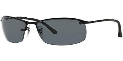 Sluneční brýle Ray-Ban® model 3183, barva obruby černá lesk, čočka šedá polarizovaná, kód barevné varianty 00281.