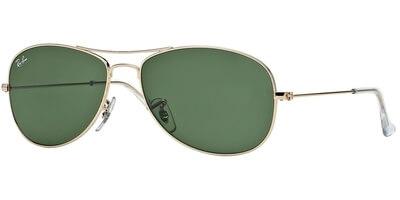 Sluneční brýle Ray-Ban® model 3362, barva obruby zlatá lesk, čočka zelená, kód barevné varianty 001.