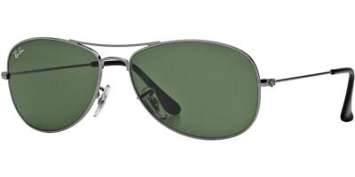 Sluneční brýle Ray-Ban® model 3362, barva obruby šedá lesk, čočka zelená, kód barevné varianty 004.