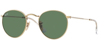 Sluneční brýle Ray-Ban® model 3447, barva obruby zlatá lesk, čočka zelená, kód barevné varianty 001.