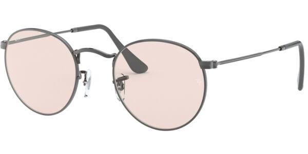 Sluneční brýle Ray-Ban® model 3447, barva obruby šedá mat, čočka růžová, kód barevné varianty 004T5.