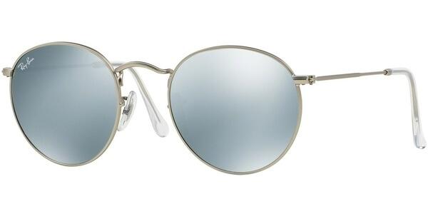Sluneční brýle Ray-Ban® model 3447, barva obruby stříbrná mat, čočka stříbrná zrcadlo, kód barevné varianty 01930.