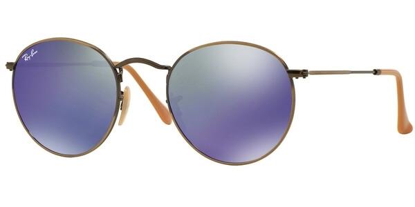 Sluneční brýle Ray-Ban® model 3447, barva obruby bronzová mat, čočka modrá zrcadlo, kód barevné varianty 16768.