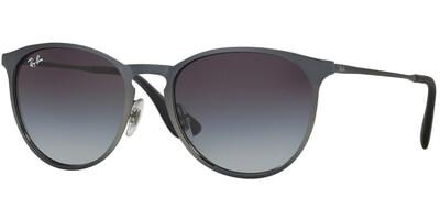 Sluneční brýle Ray-Ban® model 3539, barva obruby stříbrná mat, čočka šedá gradál, kód barevné varianty 1928G.