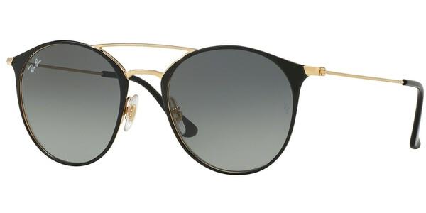 Sluneční brýle Ray-Ban® model 3546, barva obruby černá lesk zlatá, čočka šedá gradál, kód barevné varianty 18771.