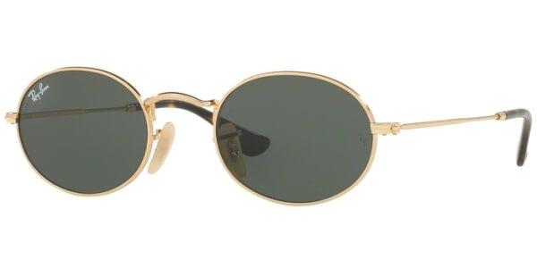 Sluneční brýle Ray-Ban® model 3547N, barva obruby zlatá lesk, čočka zelená, kód barevné varianty 001.