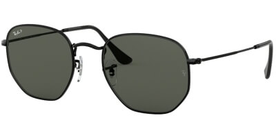 Sluneční brýle Ray-Ban® model 3548N, barva obruby černá lesk, čočka zelená polarizovaná, kód barevné varianty 00258.