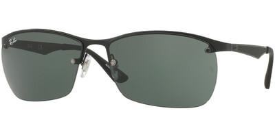 Sluneční brýle Ray-Ban® model 3550, barva obruby černá mat, čočka zelená, kód barevné varianty 00671.