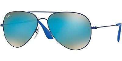 Sluneční brýle Ray-Ban® model 3558, barva obruby modrá lesk, čočka modrá zrcadlo gradál, kód barevné varianty 9016B7.