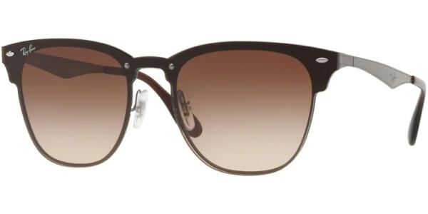 Sluneční brýle Ray-Ban® model 3576N, barva obruby hnědá lesk šedá, čočka hnědá gradál, kód barevné varianty 04113.