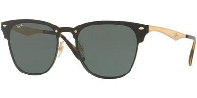 Sluneční brýle Ray-Ban® model 3576N, barva obruby zlatá lesk, čočka zelená, kód barevné varianty 04371.