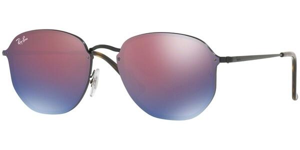 Sluneční brýle Ray-Ban® model 3579N, barva obruby černá lesk, čočka modrá zrcadlo, kód barevné varianty 1537V.