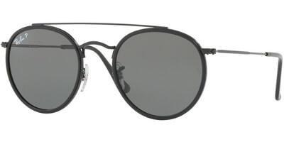 Sluneční brýle Ray-Ban® model 3647N, barva obruby černá mat, čočka zelená polarizovaná, kód barevné varianty 00258.