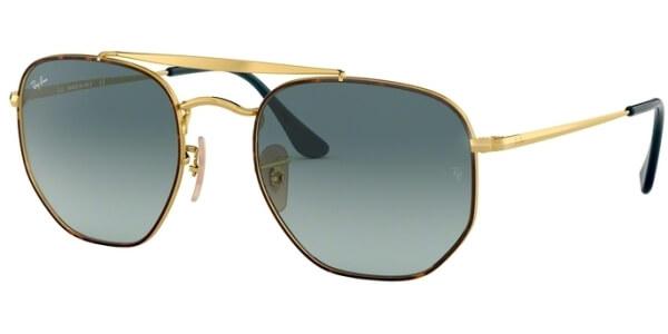 Sluneční brýle Ray-Ban® model 3648, barva obruby zlatá lesk hnědá, čočka šedá gradál, kód barevné varianty 91023M.