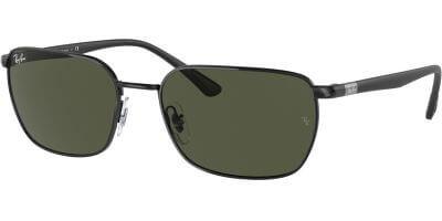 Sluneční brýle Ray-Ban® model 3684, barva obruby černá lesk, čočka zelená, kód barevné varianty 00231.