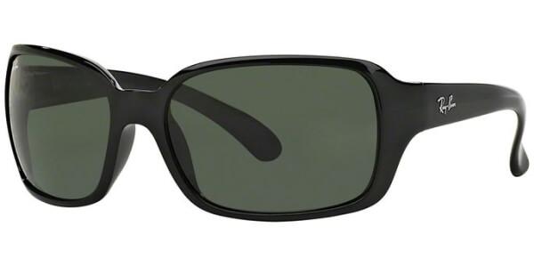 Sluneční brýle Ray-Ban® model 4068, barva obruby černá lesk, čočka zelená, kód barevné varianty 601.