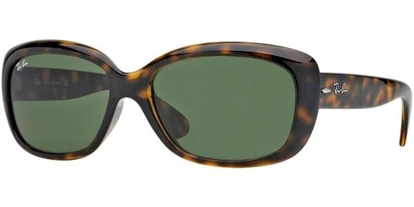 Sluneční brýle Ray-Ban® model 4101, barva obruby hnědá lesk, čočka zelená, kód barevné varianty 710.