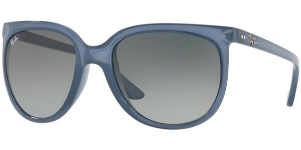 Sluneční brýle Ray-Ban® model 4126, barva obruby modrá lesk, čočka šedá gradál, kód barevné varianty 630371.