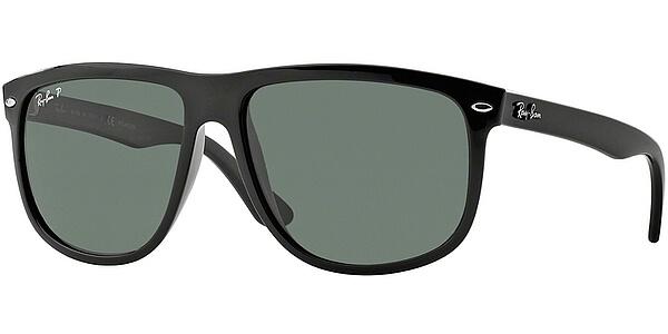 Sluneční brýle Ray-Ban® model 4147, barva obruby černá lesk, čočka Zelená polarizovaná, kód barevné varianty 60158.