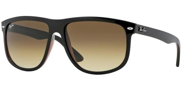 Sluneční brýle Ray-Ban® model 4147, barva obruby černá lesk hnědá, čočka hnědá gradál, kód barevné varianty 609585.