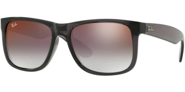 Sluneční brýle Ray-Ban® model 4165, barva obruby šedá lesk čirá, čočka červená zrcadlo gradál, kód barevné varianty 606U0.