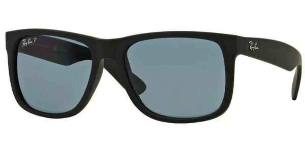 Sluneční brýle Ray-Ban® model 4165, barva obruby černá mat, čočka modrá polarizovaná, kód barevné varianty 6222V.