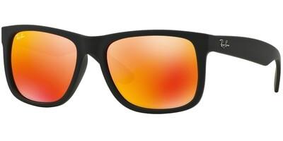 Sluneční brýle Ray-Ban® model 4165, barva obruby černá mat, čočka oranžová zrcadlo, kód barevné varianty 6226Q.