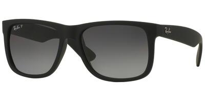 Sluneční brýle Ray-Ban® model 4165, barva obruby černá mat, čočka šedá gradál polarizovaná, kód barevné varianty 622T3.