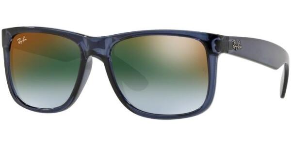 Sluneční brýle Ray-Ban® model 4165, barva obruby modrá lesk čirá, čočka modrá zrcadlo gradál, kód barevné varianty 6341T0.