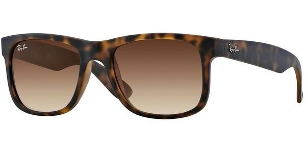 Sluneční brýle Ray-Ban® model 4165, barva obruby hnědá mat, čočka hnědá gradál, kód barevné varianty 71013.