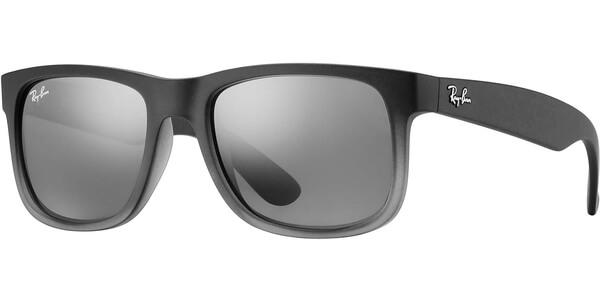 Sluneční brýle Ray-Ban® model 4165, barva obruby šedá mat, čočka stříbrná zrcadlo, kód barevné varianty 85288.