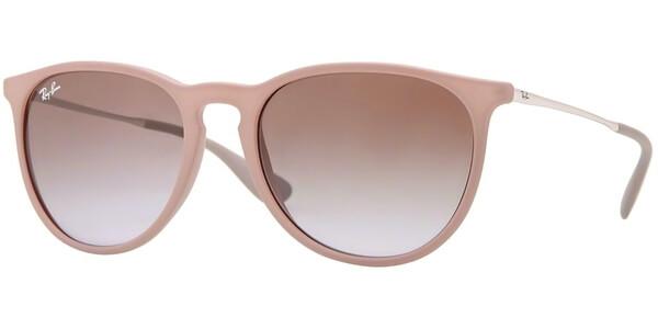 Sluneční brýle Ray-Ban® model 4171, barva obruby béžová mat stříbrná, čočka hnědá gradál, kód barevné varianty 600068.
