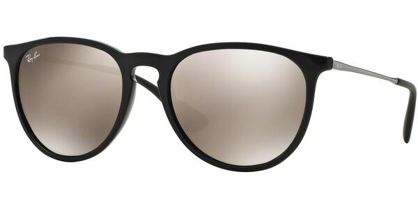 Sluneční brýle Ray-Ban® model 4171, barva obruby černá lesk stříbrná, čočka zlatá zrcadlo, kód barevné varianty 6015A.
