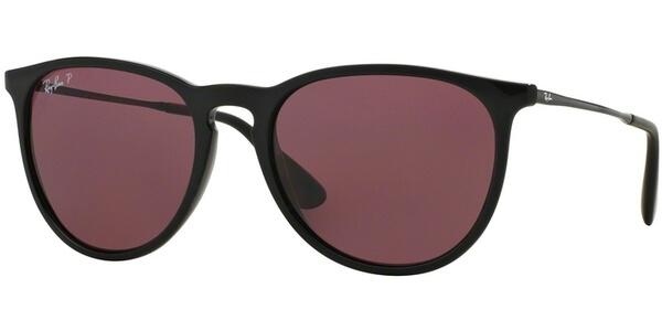 Sluneční brýle Ray-Ban® model 4171, barva obruby černá lesk stříbrná, čočka růžová polarizovaná, kód barevné varianty 6015Q.