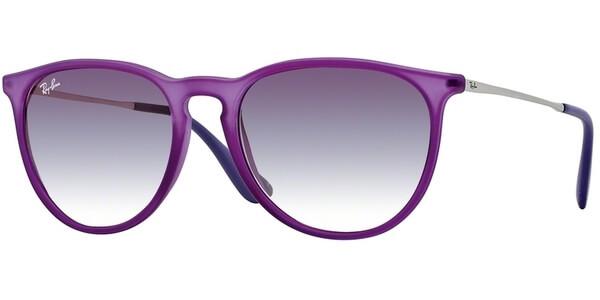 Sluneční brýle Ray-Ban® model 4171, barva obruby fialová mat stříbrná, čočka fialová gradál, kód barevné varianty 60258H.