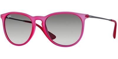 Sluneční brýle Ray-Ban® model 4171, barva obruby růžová mat stříbrná, čočka šedá gradál, kód barevné varianty 602711.